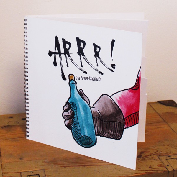 Projekt: ARRR – Piraten-Klappbuch